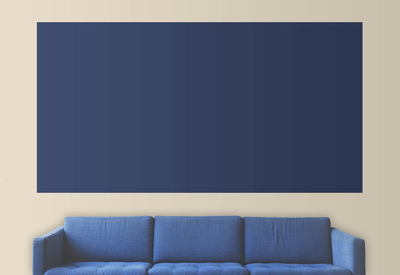 peinture deux couleurs cadre