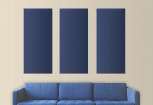 peinture deux couleurs trois bandes