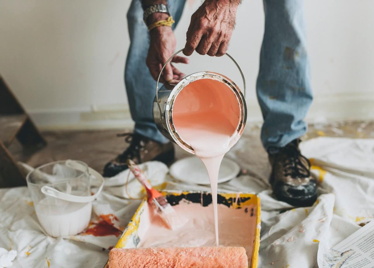 travaux peinture interieure
